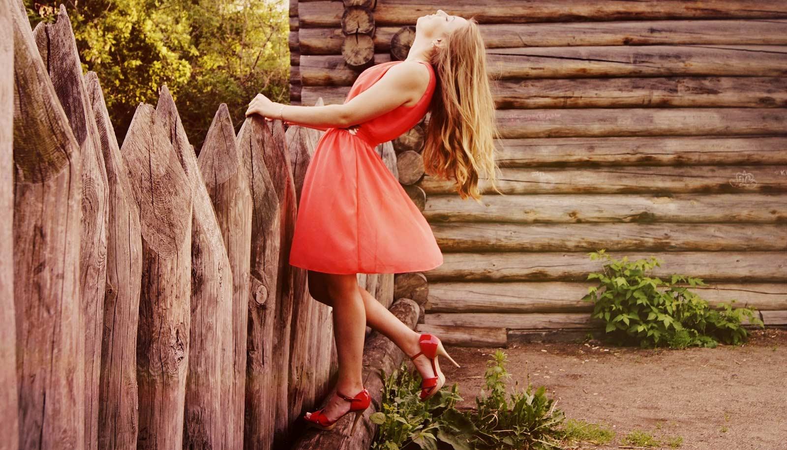Rotes Kleid - Rote Kleider