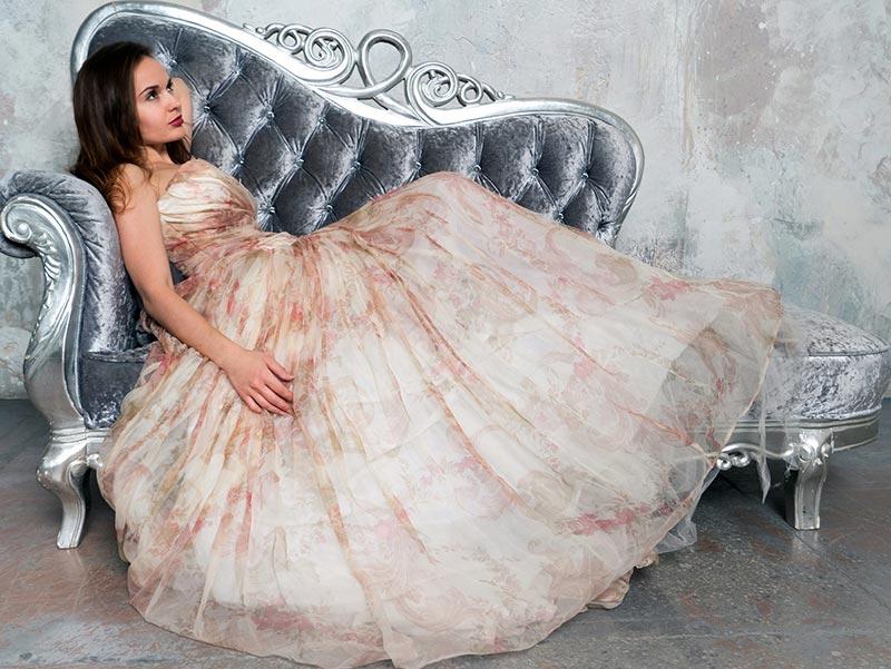 Lange Abendkleider Prinzessin