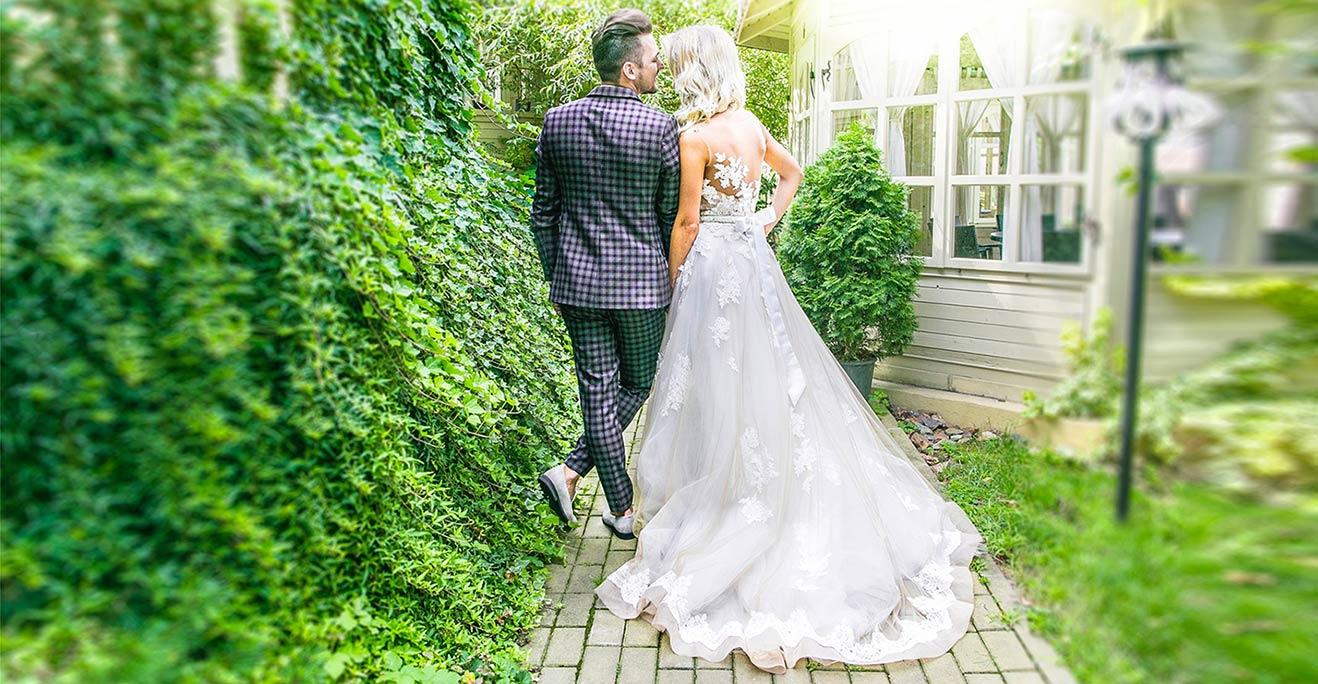 Hochzeitskleid A-Linie