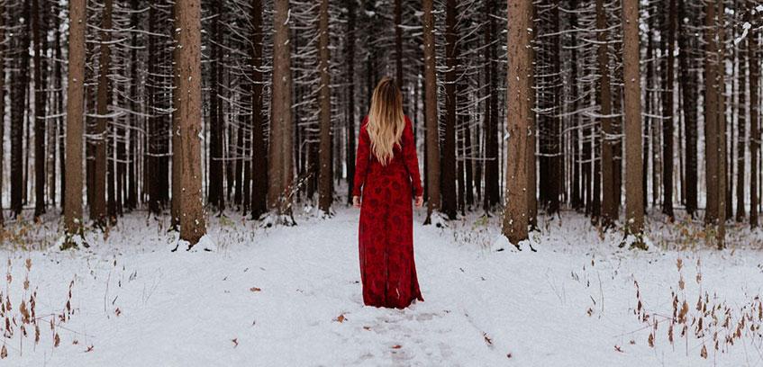 the best attitude b8d84 6afe7 Winterkleid: Elegante warme Winterkleider Damen Langarm ...
