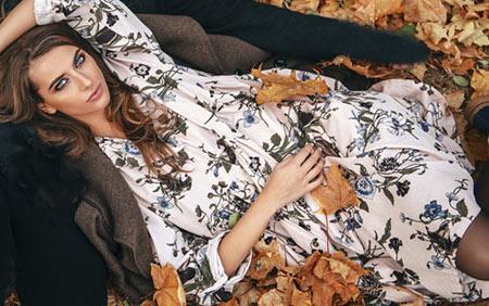 Kleider für den Herbst